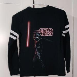 Star wars boys shirt tee long sleeve